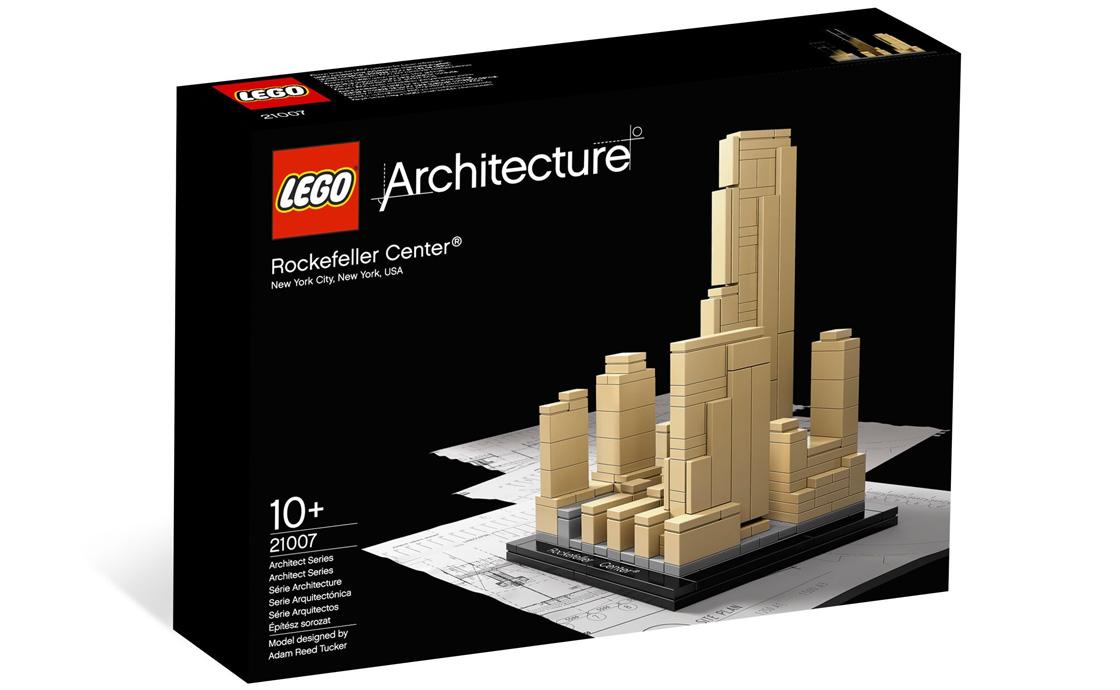 LEGO Architecture Рокфеллер - Центр (21007)