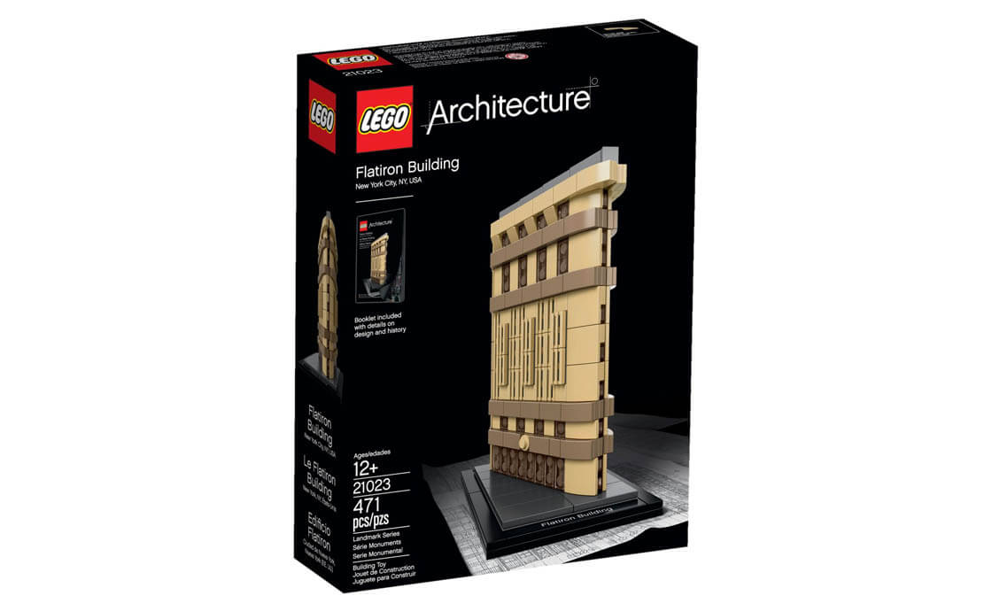 LEGO Architecture Флэтайрон-билдинг (21023)