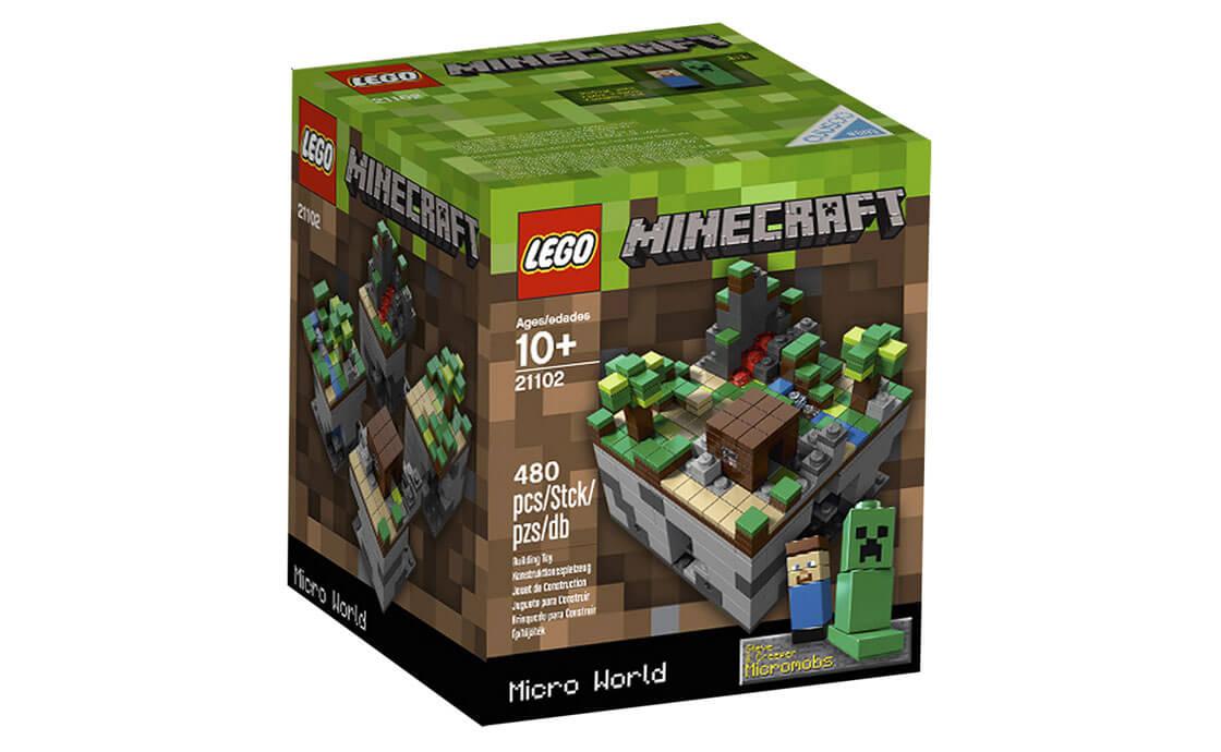 LEGO Ideas Minecraft Cuusoo Project (21102)