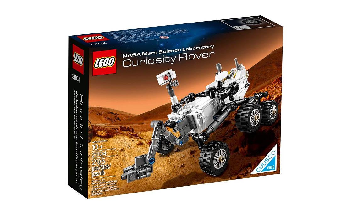 LEGO Ideas NASA Mars Science Laboratory Curiosity Rover (21104)