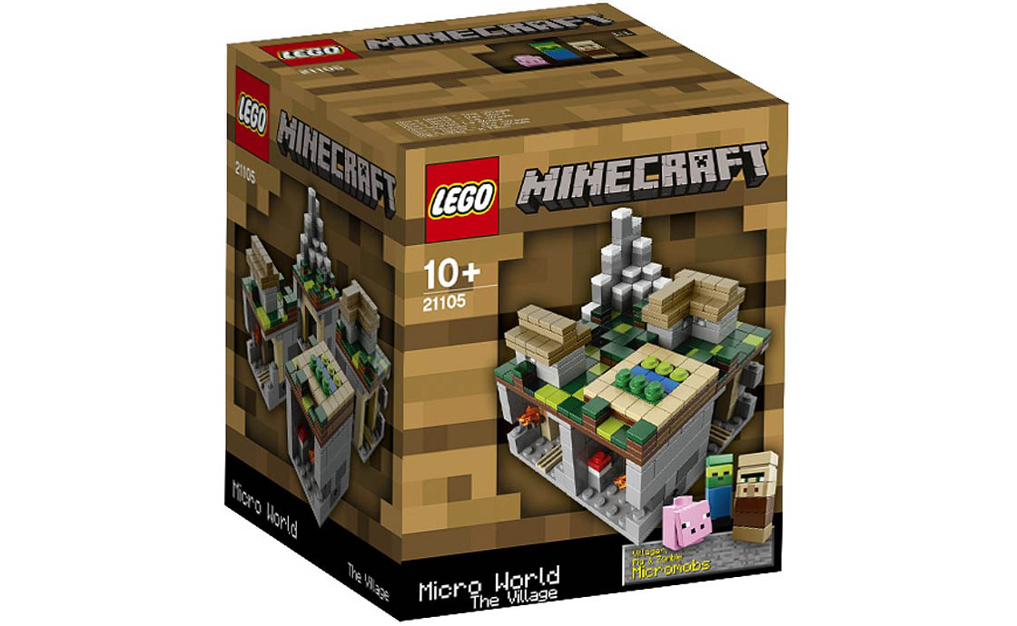 LEGO Minecraft Minecraft Micro World: The Village (21105)