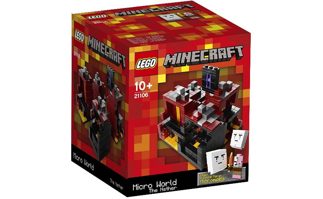 LEGO Minecraft Minecraft Micro World: The Nether (21106)