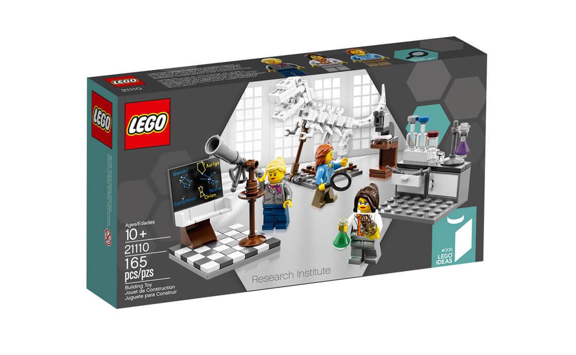 LEGO Ideas Исследовательский институт (21110)