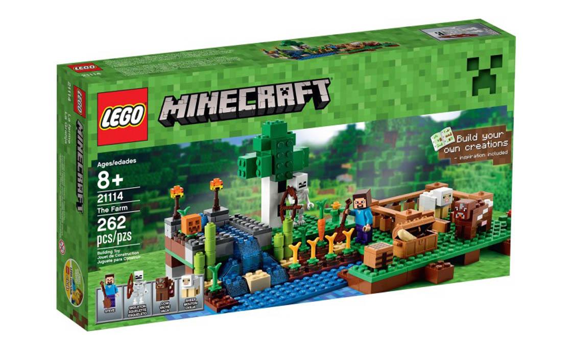 LEGO Minecraft Ферма (21114)
