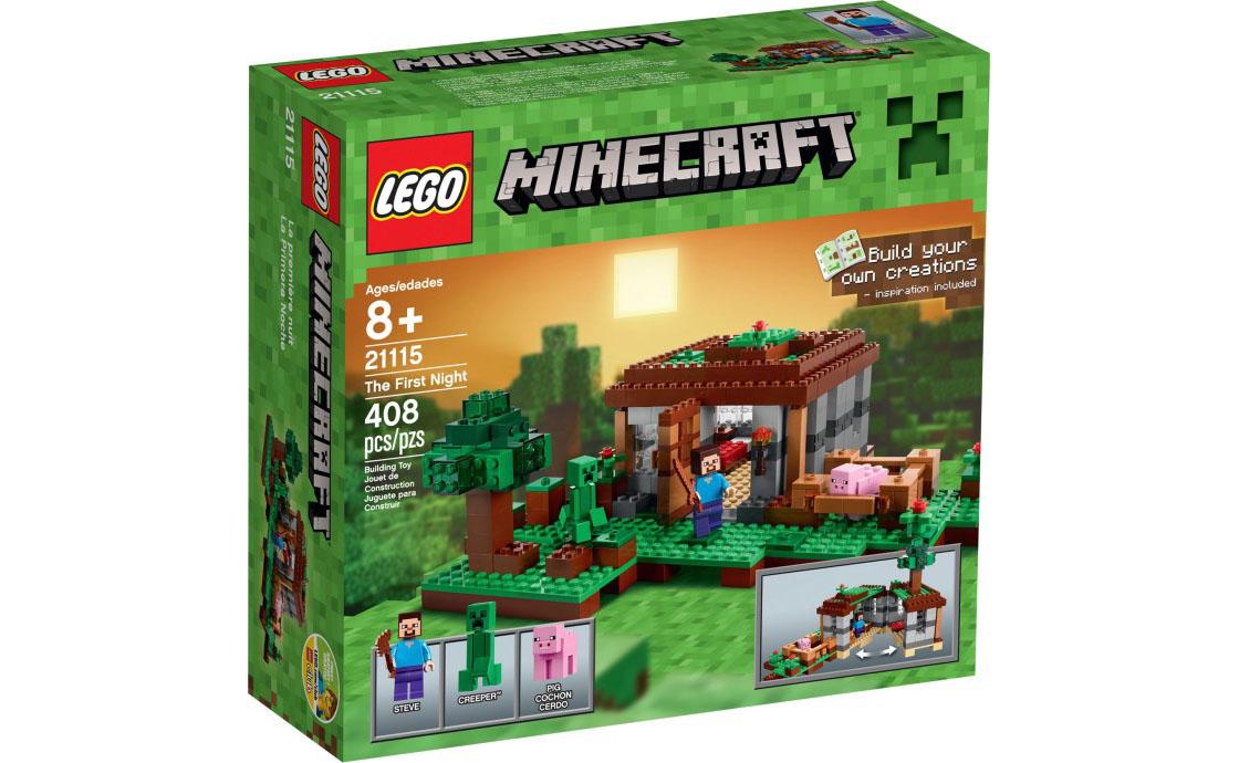 LEGO Minecraft Первая ночь (21115)