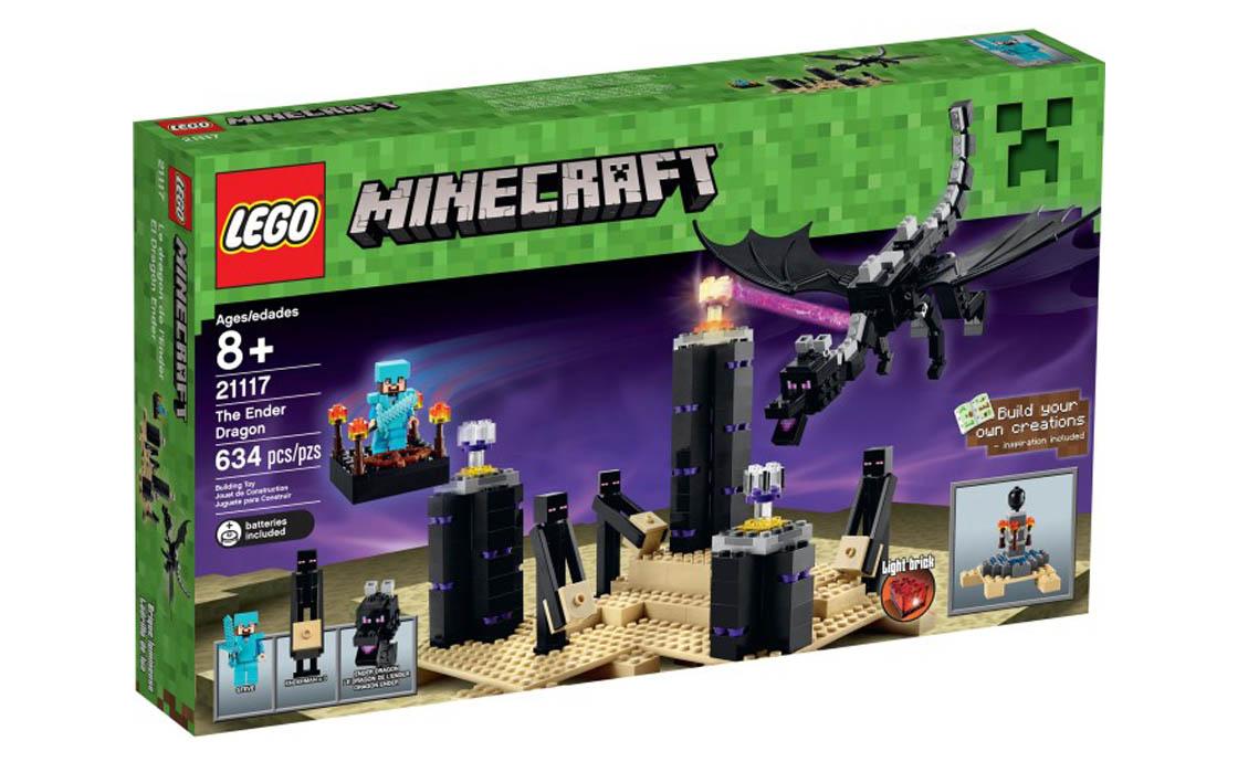 LEGO Minecraft Эндер Дракон (21117)