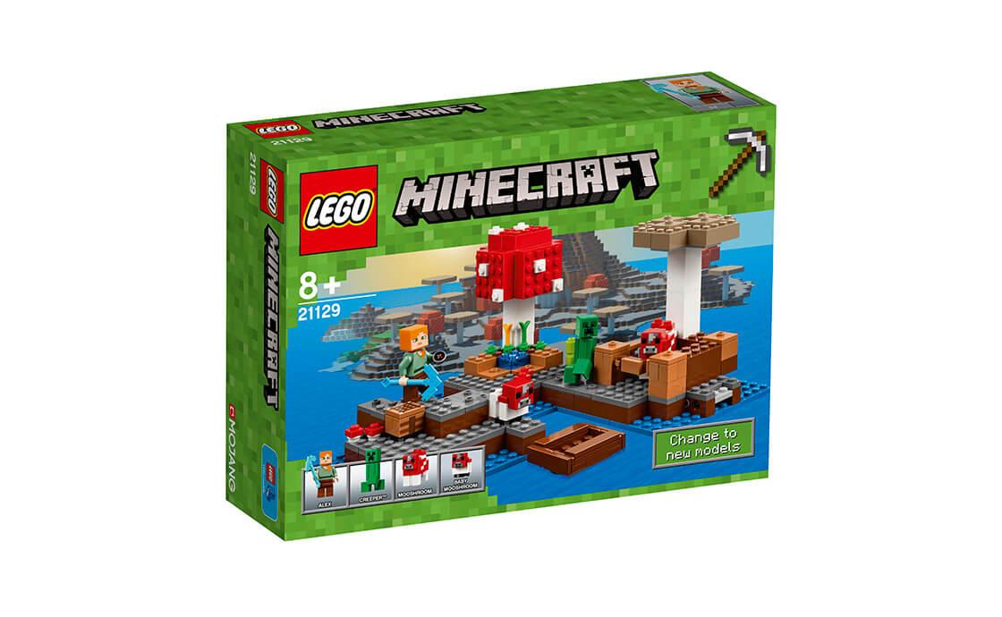 LEGO Minecraft Грибний острів (21129)