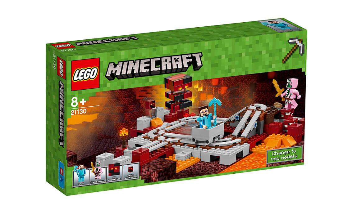 LEGO Minecraft Підземна залізниця (21130)