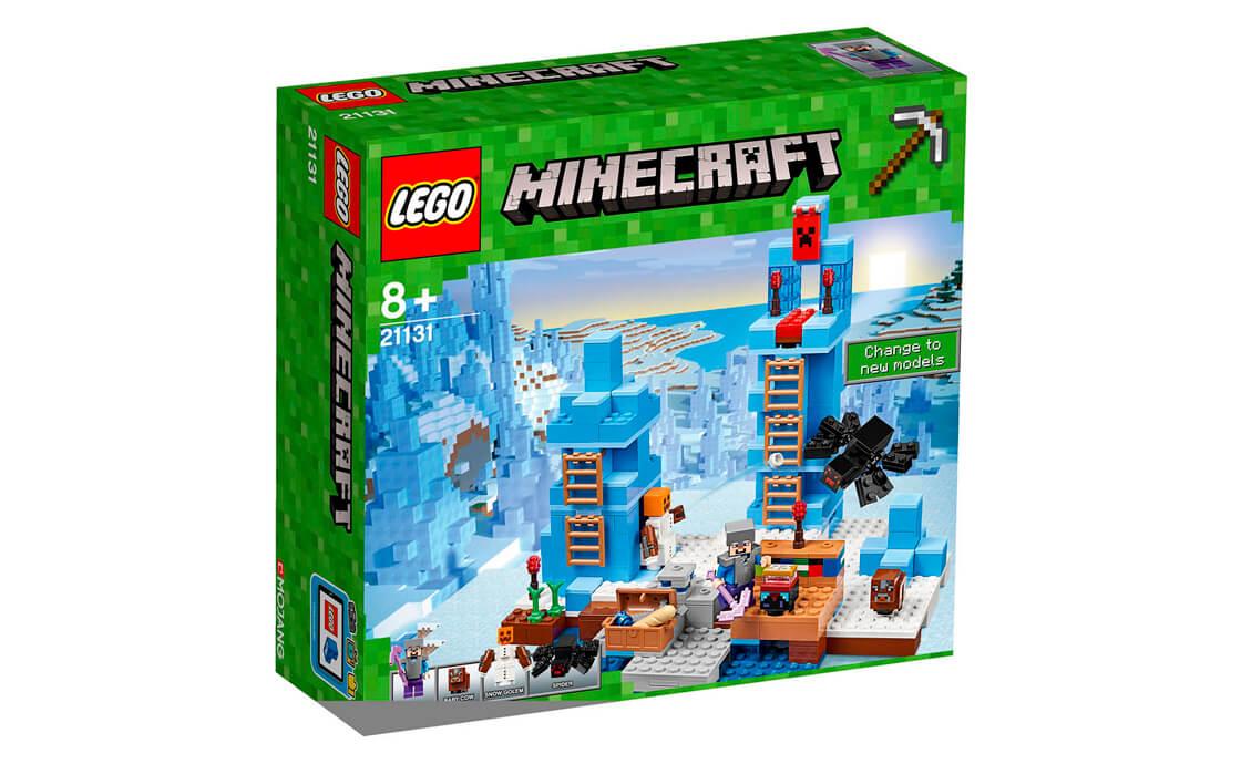 LEGO Minecraft Крижані шипи (21131)