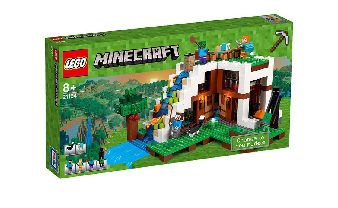 LEGO Minecraft База на водоспаді (21134)