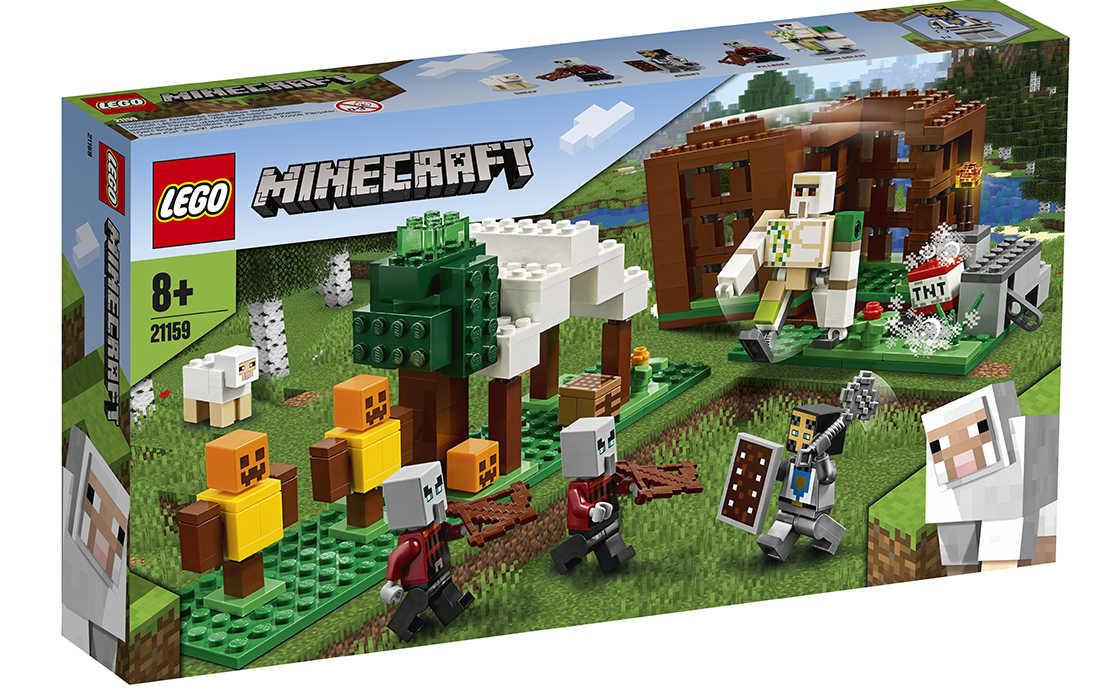 LEGO Minecraft Аванпост разбойников (21159)