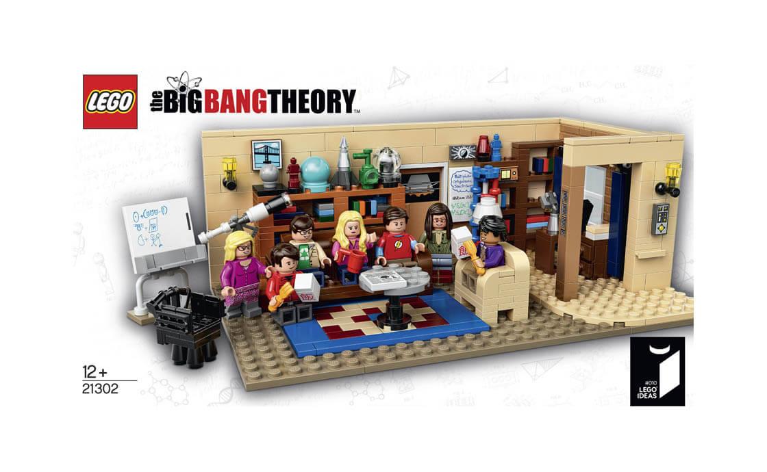LEGO Ideas Теорія Великого Вибуху (21302)