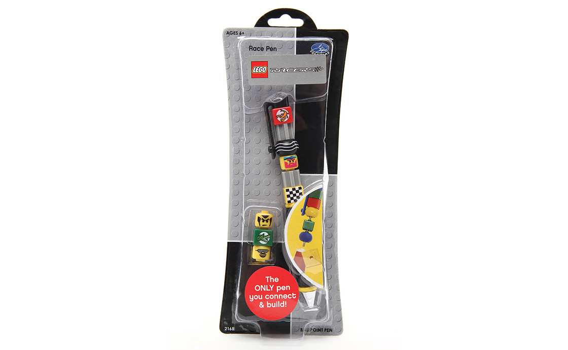 LEGO Accessories Lego Race Ручка шариковая (2168)