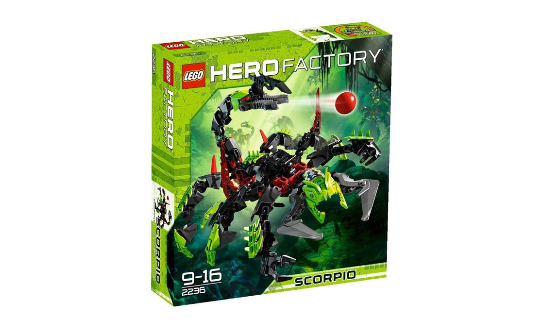 LEGO Hero Factory Скорпио (2236)