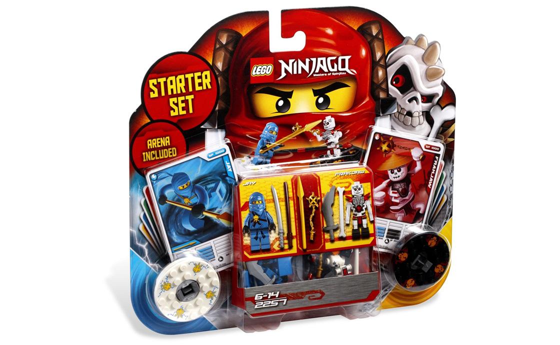 LEGO NINJAGO Кружитцу - набор для начинающих (2257)
