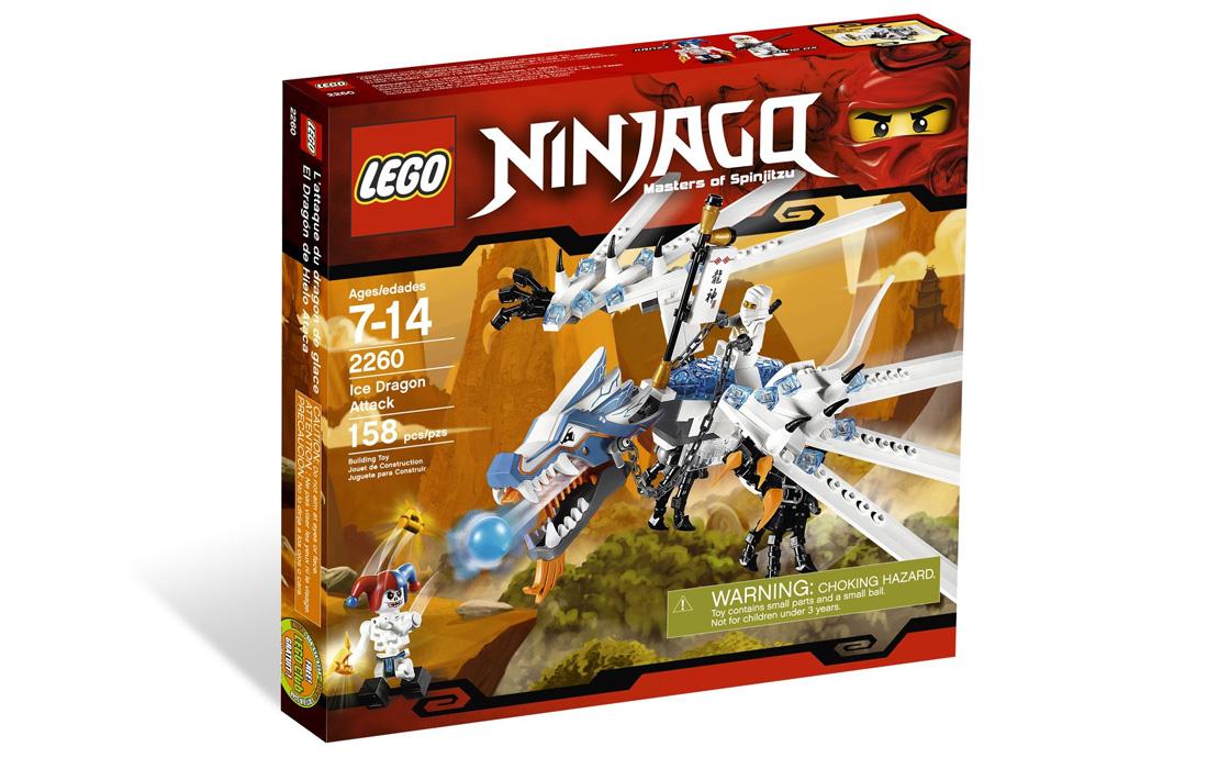LEGO NINJAGO Атака Ледяного Дракона (2260)