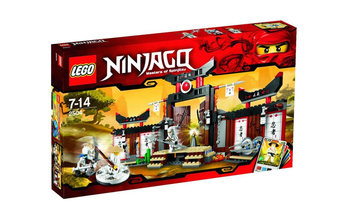 LEGO NINJAGO Додзё для кружитцу (2504)