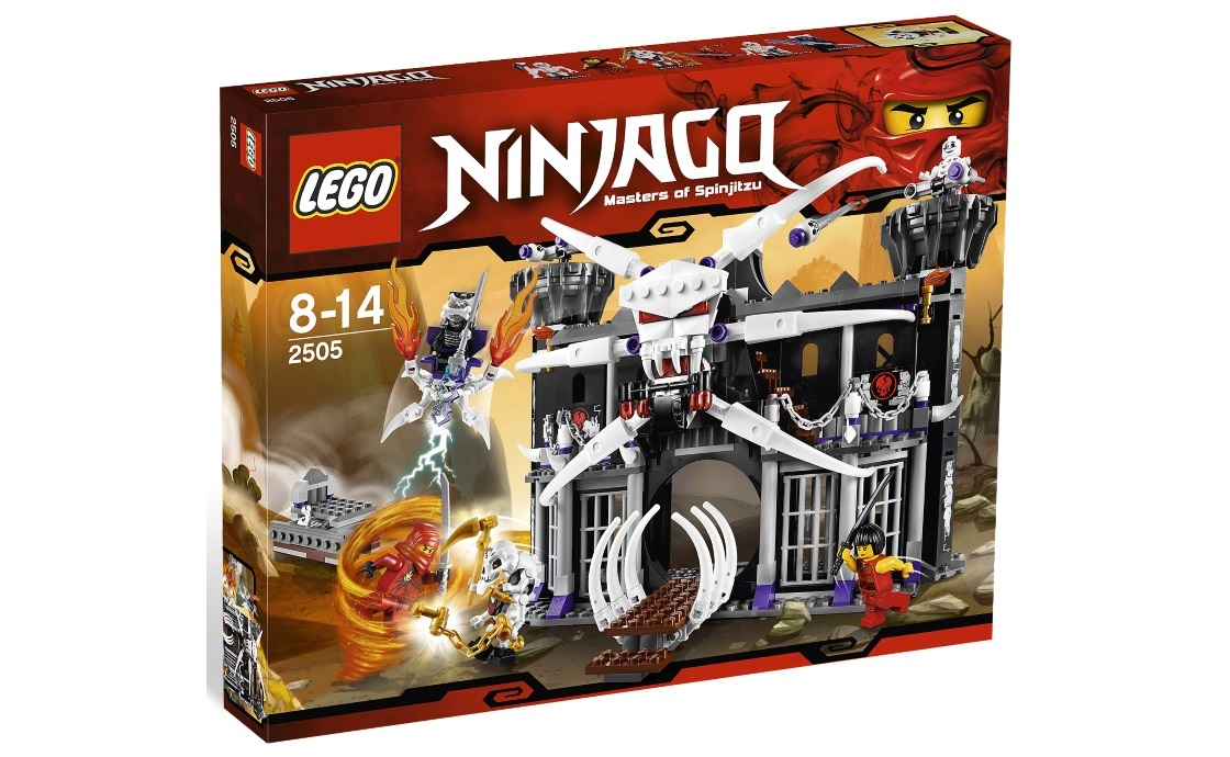 LEGO NINJAGO Темная крепость Гармадона (2505)