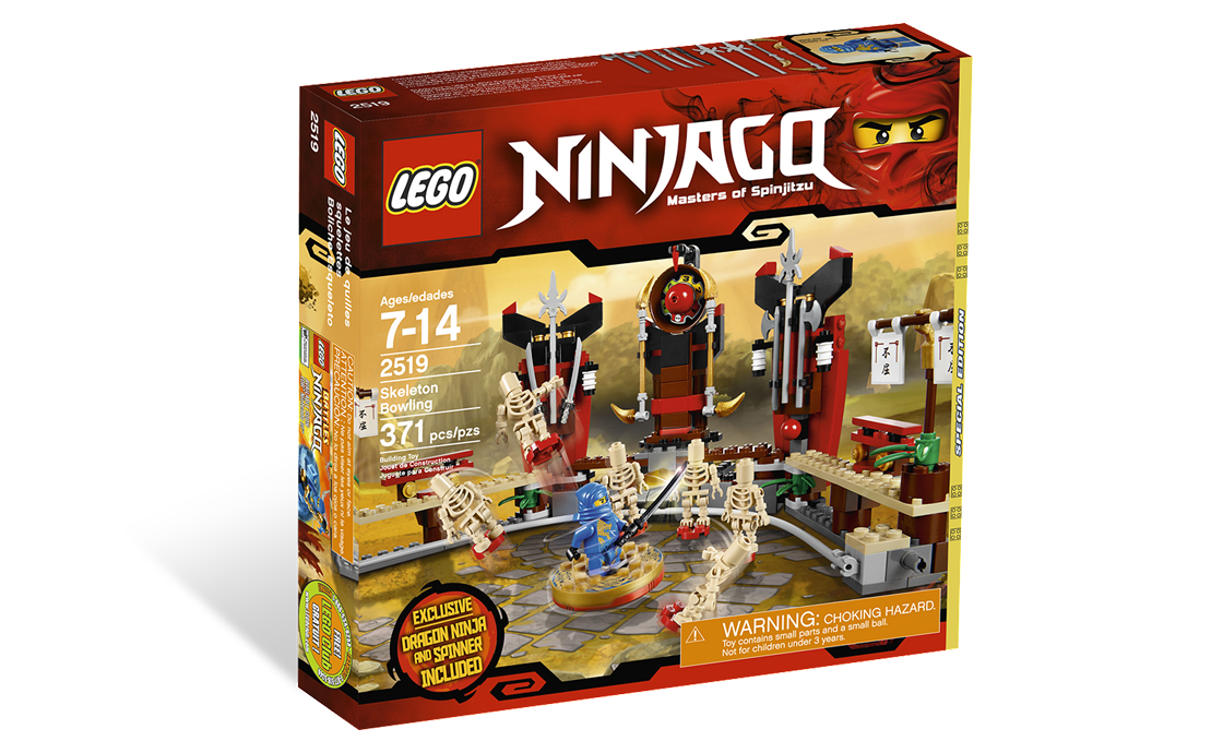 LEGO NINJAGO Битва со скелетами (2519)
