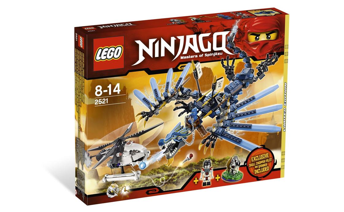 LEGO NINJAGO Битва с Молниевым драконом (2521)