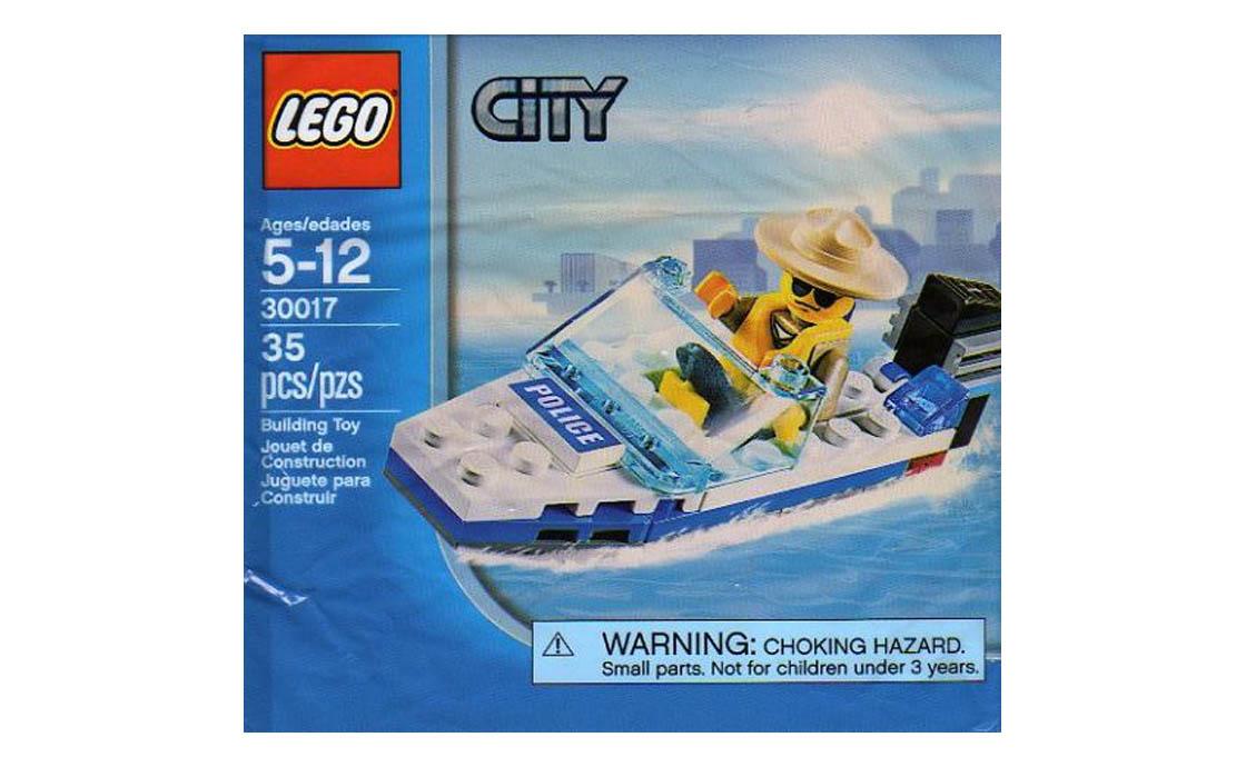 LEGO City Полицейская лодка (30017)