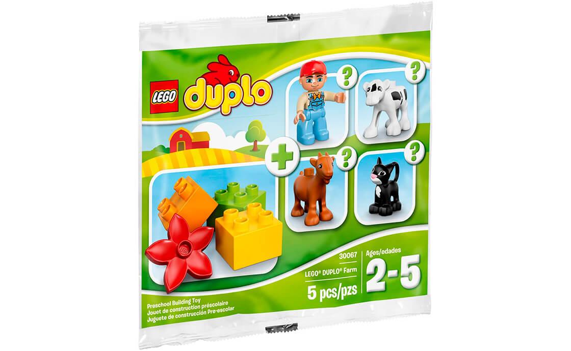 LEGO DUPLO Ферма в пакетику (30067)