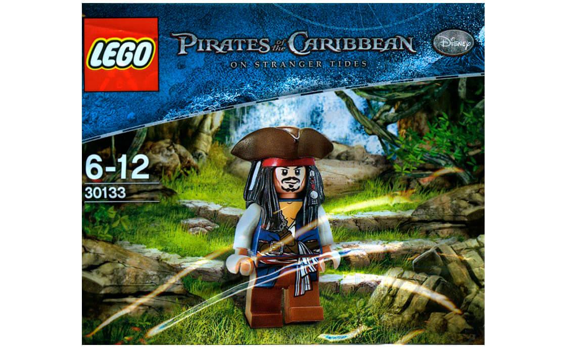 Раритет LEGO Pirates of the Caribbean Джек Воробей (30133)