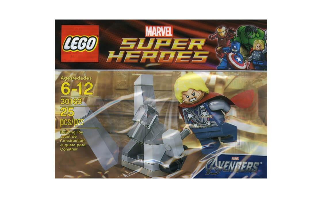 LEGO Super Heroes Тор і космічний куб (30163_1)