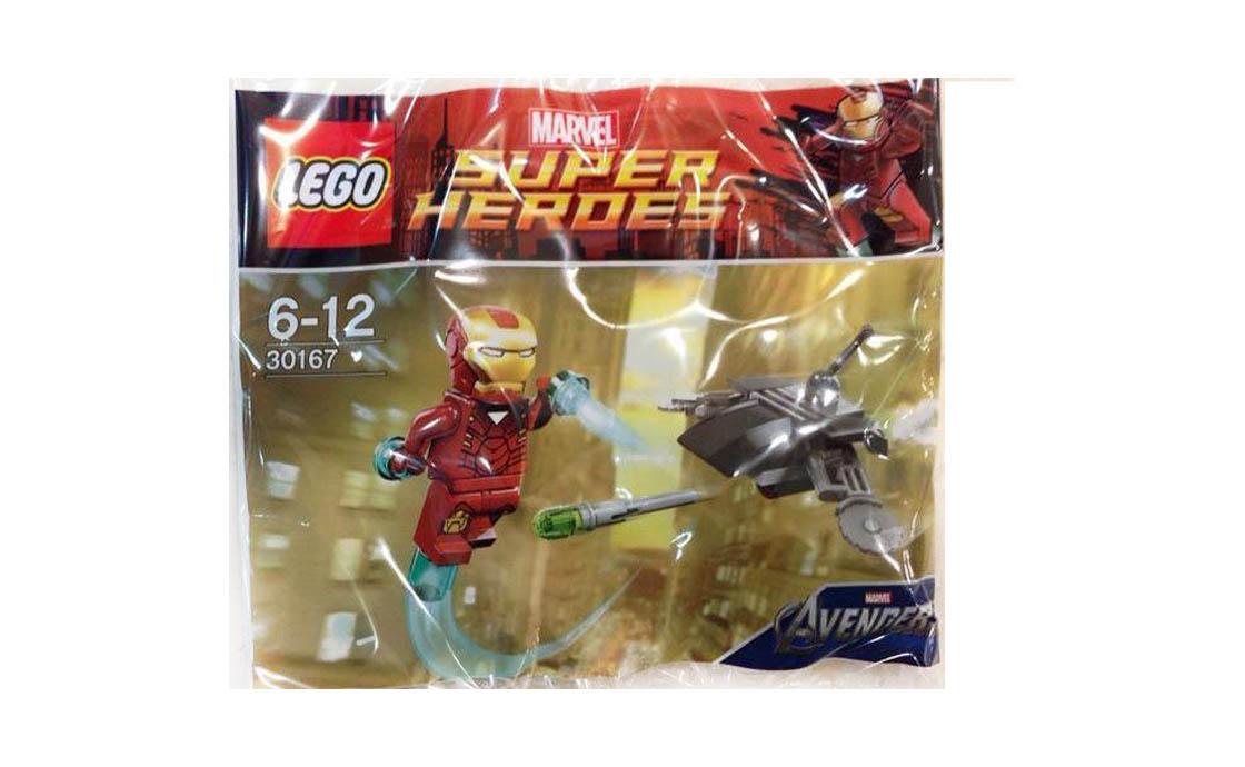LEGO Super Heroes Железный Человек против Дрона (30167)
