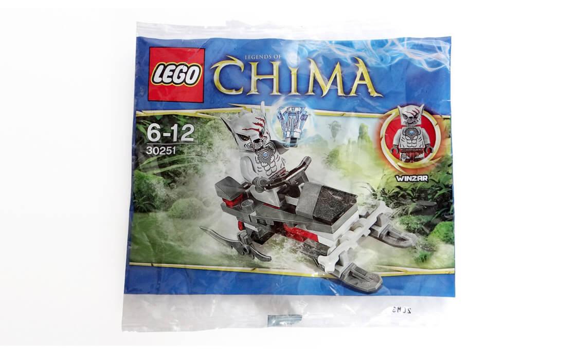 LEGO Legends Of Chima Патруль Винзара (30251)