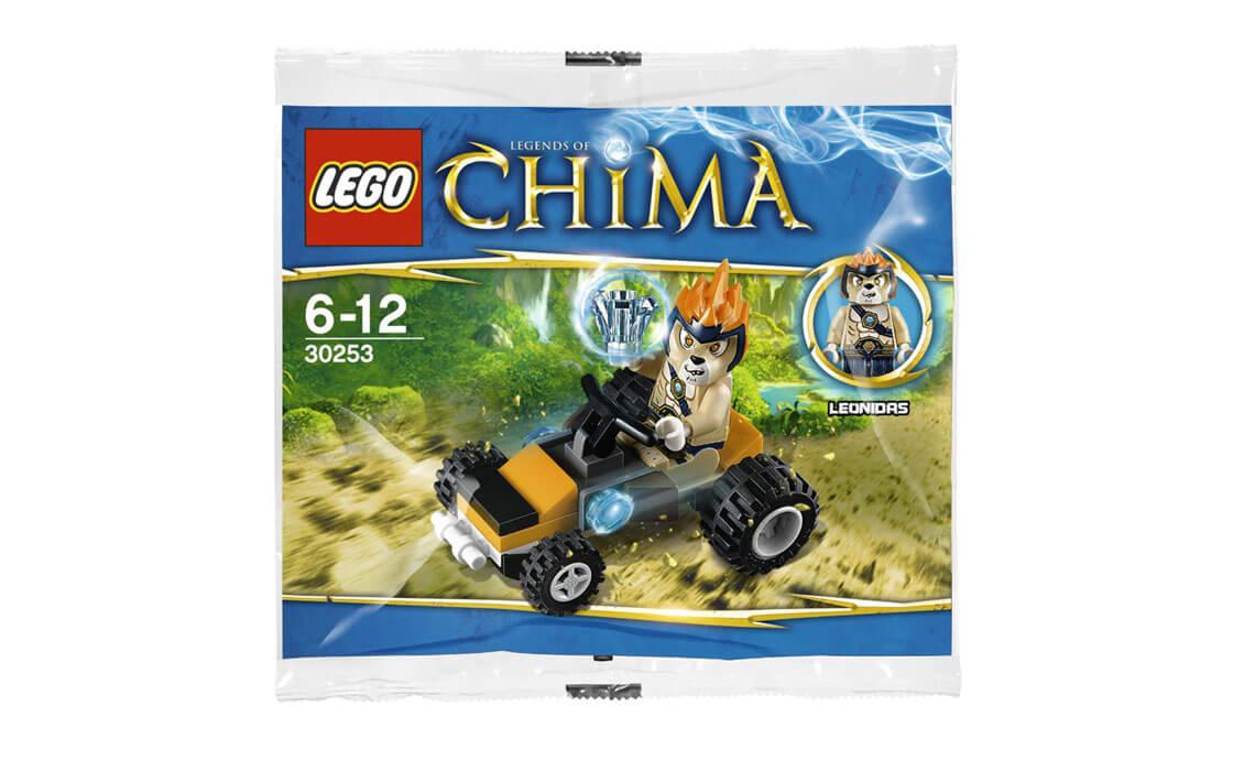 LEGO Legends Of Chima Драгстер Леонидаса (30253)