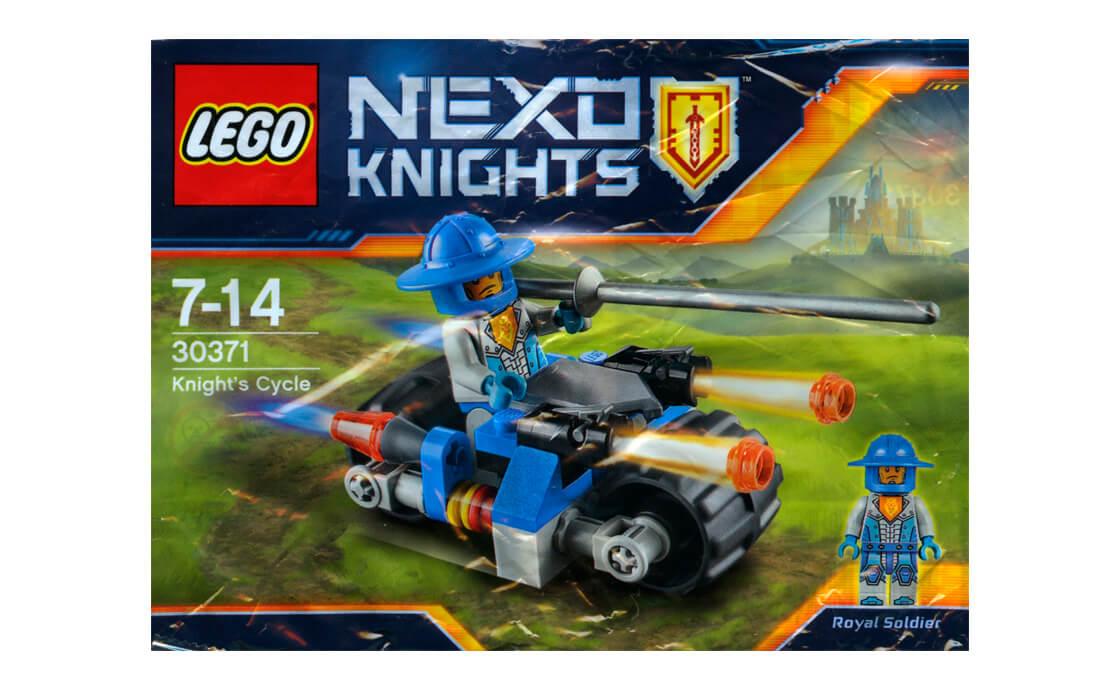 LEGO NEXO KNIGHTS Королівський мотоцикл (30371)