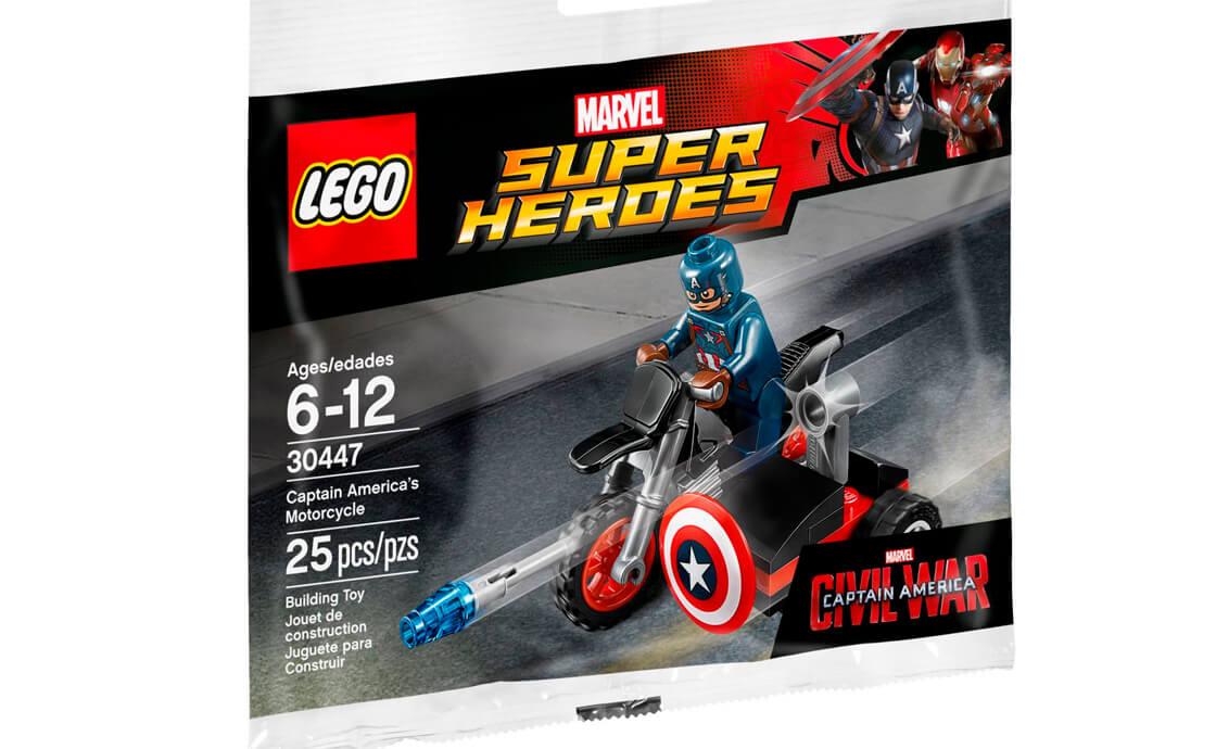 LEGO Super Heroes Мотоцикл Капітана Америки (30447)