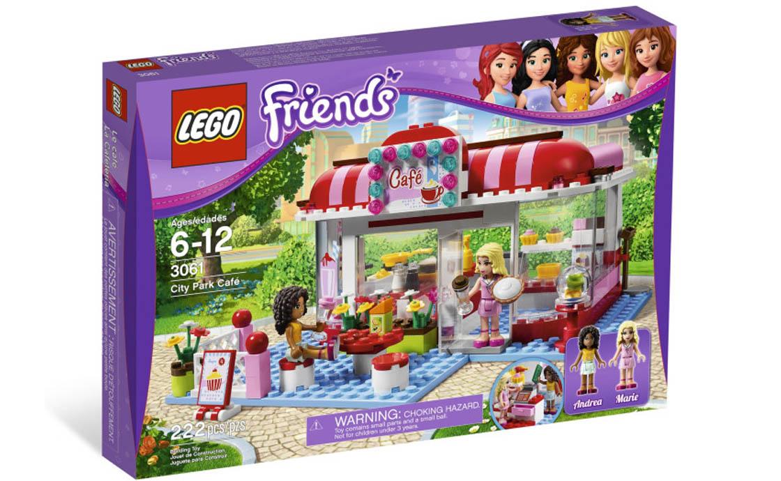 LEGO Friends Кафе в городском парке (3061)