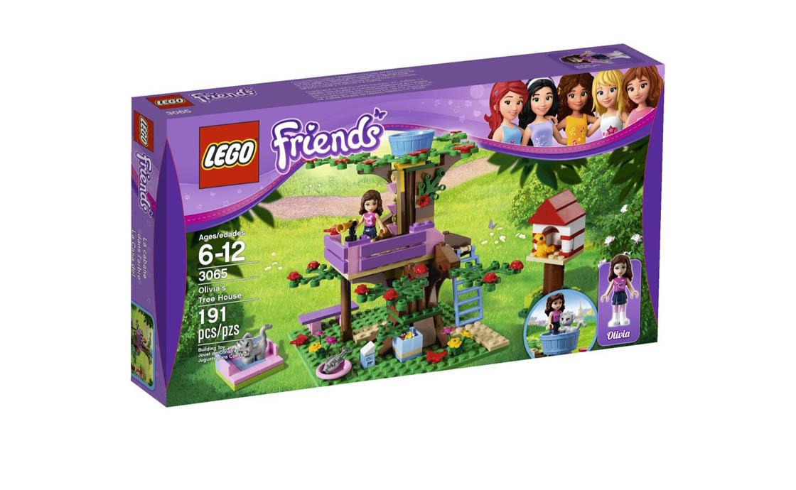 LEGO Friends Домик на дереве Оливии (3065)