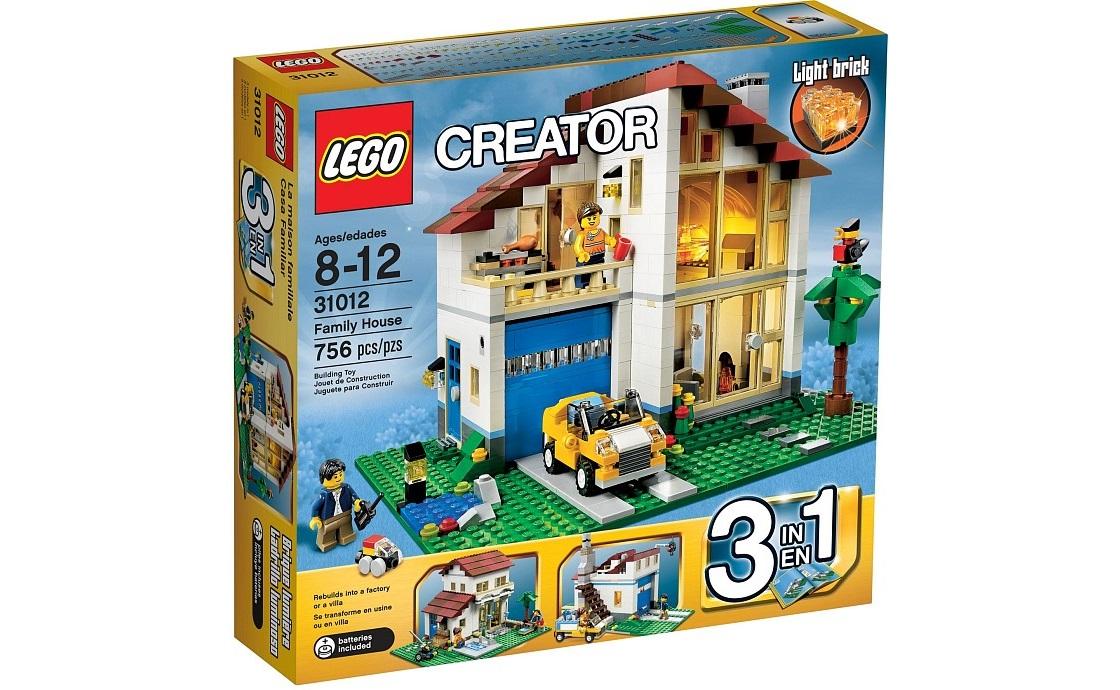 LEGO Creator Дом для семьи (31012)