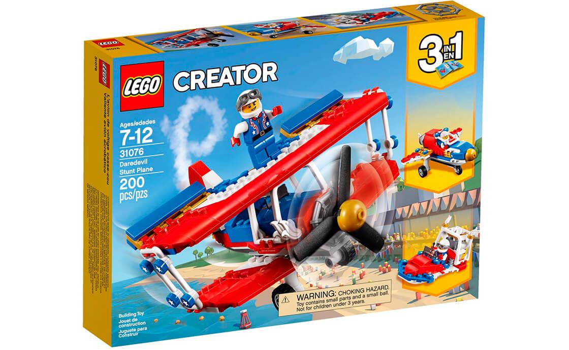 LEGO Creator Бесстрашный самолет высшего пилотажа (31076)
