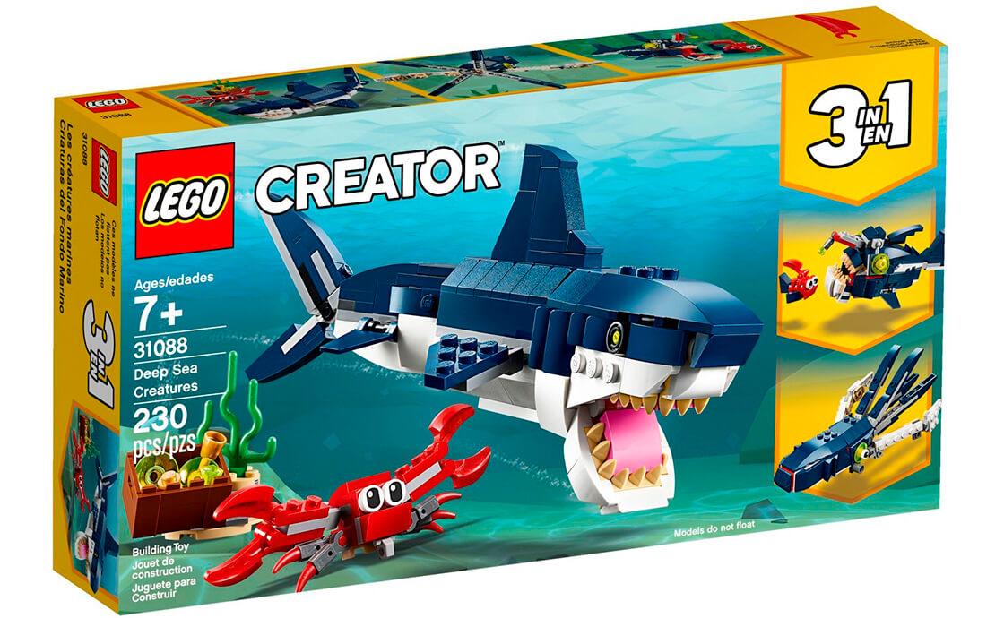 LEGO Creator Подводные жители (31088)