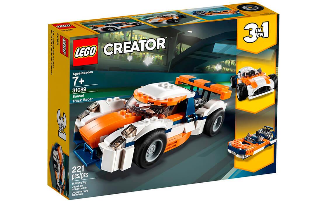 LEGO Creator Оранжевый гоночный автомобиль (31089)