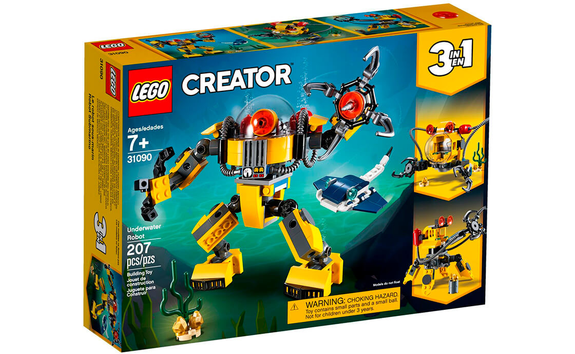 LEGO Creator Подводный робот (31090)