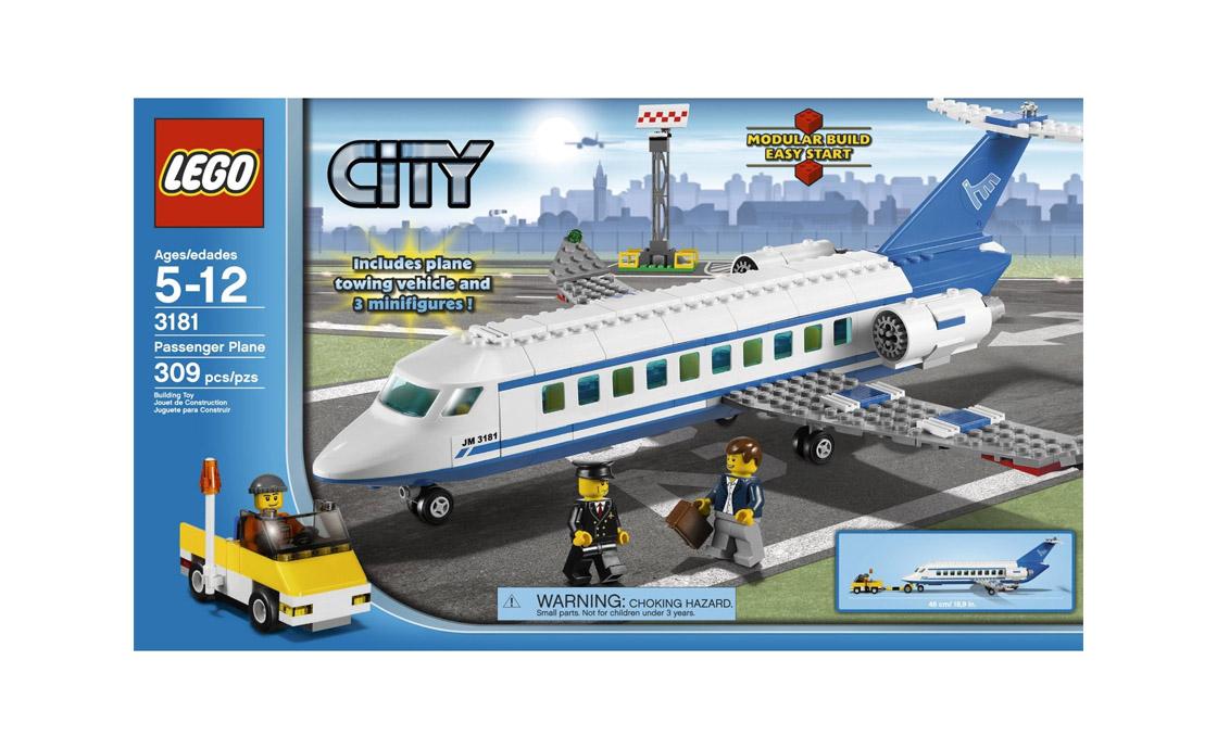 LEGO City Пассажирский самолет (3181)