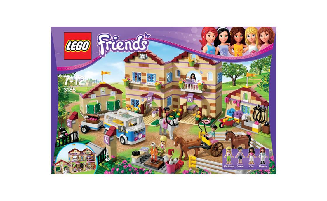 LEGO Friends Летний лагерь наездников (3185)