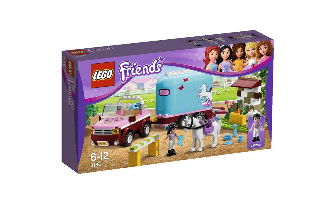 LEGO Friends Перевозка лошадей Эмми (3186)