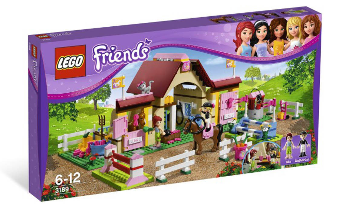 LEGO Friends Конюшня (3189)