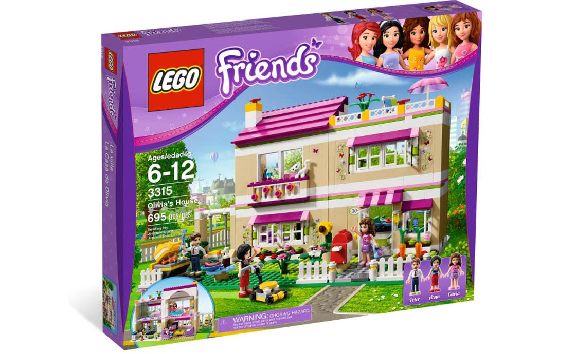 LEGO Friends Дом Оливии (3315)