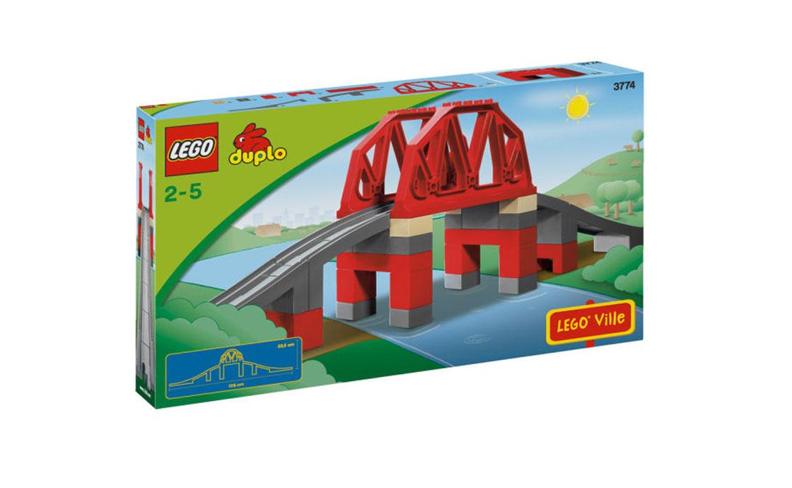 LEGO DUPLO Железнодорожный мост (3774)