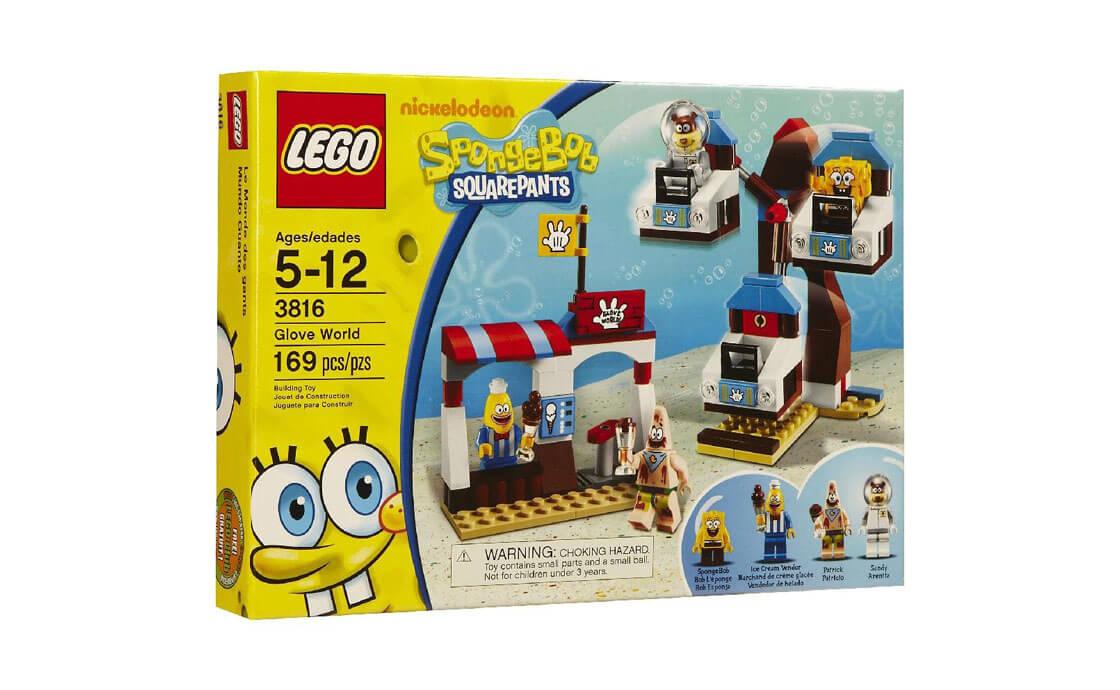Раритет Перчаточный Мир Sponge Bob (3816)