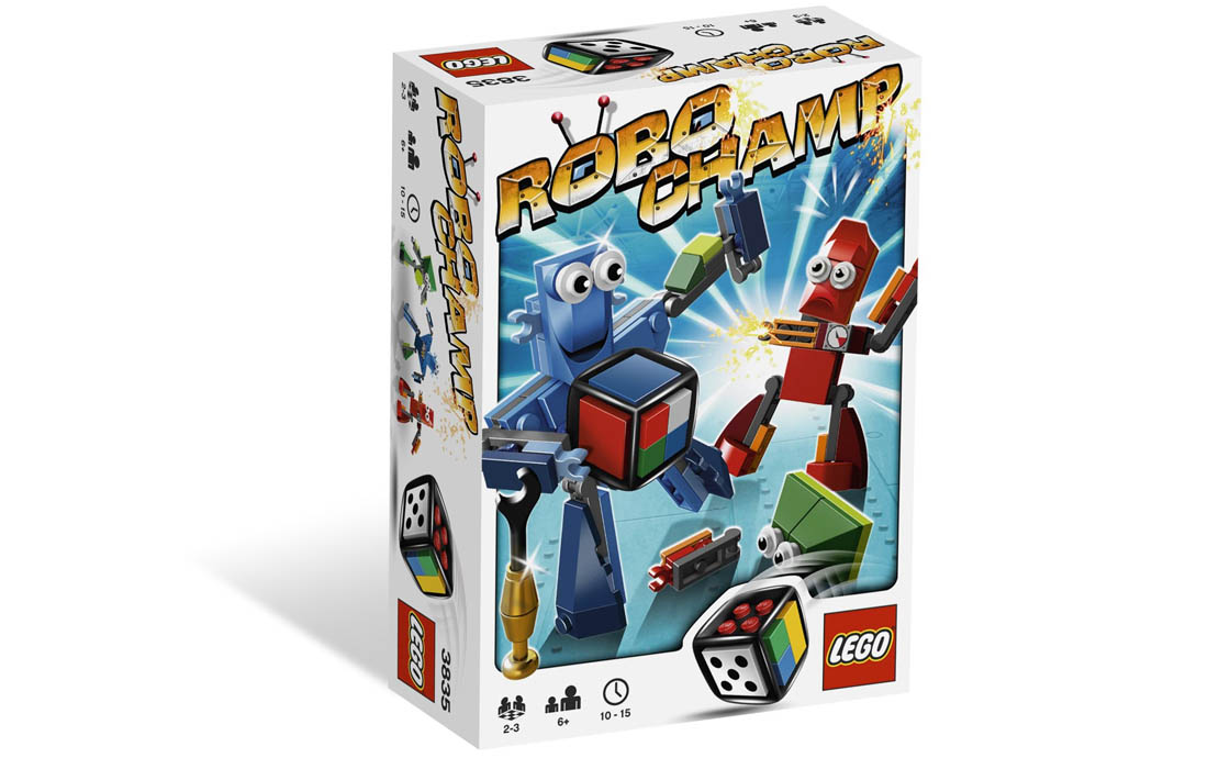 LEGO Games Чемпион Robo (3835)