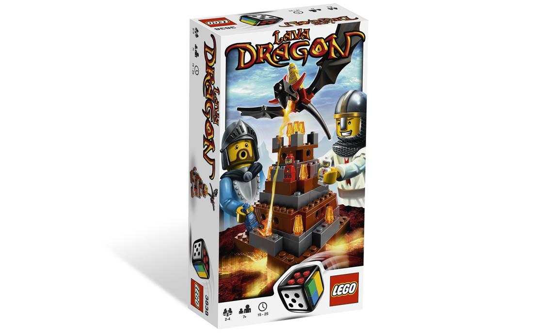 LEGO Games Дракон Лавы (3838)