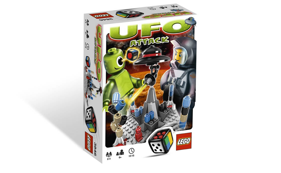 LEGO Games Атака НЛО (3846)